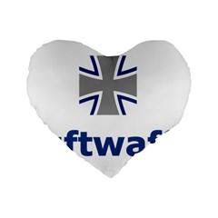 Luftwaffe Standard 16  Premium Heart Shape Cushions