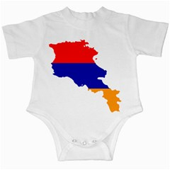 Flag Map Of Armenia  Infant Creepers