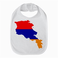 Flag Map Of Armenia  Bib
