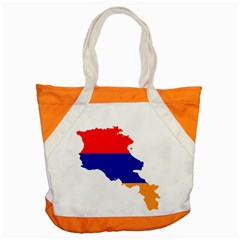 Flag Map Of Armenia  Accent Tote Bag