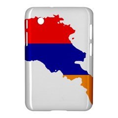 Flag Map Of Armenia  Samsung Galaxy Tab 2 (7 ) P3100 Hardshell Case