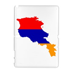 Flag Map Of Armenia  Samsung Galaxy Note 10 1 (p600) Hardshell Case