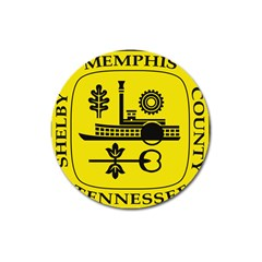 Seal Of Memphis  Magnet 3  (round)