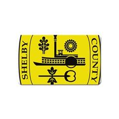 Seal Of Memphis  Magnet (name Card)