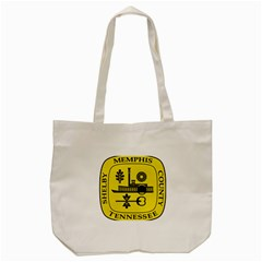 Seal Of Memphis  Tote Bag (cream)