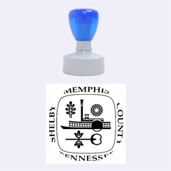 Seal Of Memphis  Rubber Round Stamps (medium)