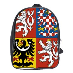 Coat Of Arms Of The Czech Republic School Bags (XL)