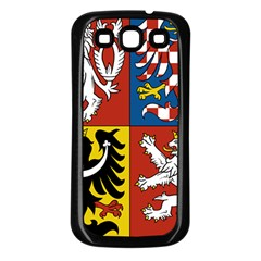 Coat Of Arms Of The Czech Republic Samsung Galaxy S3 Back Case (black)