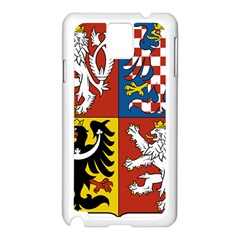 Coat Of Arms Of The Czech Republic Samsung Galaxy Note 3 N9005 Case (white)