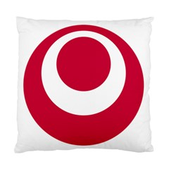 Emblem Of Okinawa Prefecture Standard Cushion Case (one Side)
