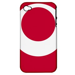 Emblem Of Okinawa Prefecture Apple Iphone 4/4s Hardshell Case (pc+silicone)