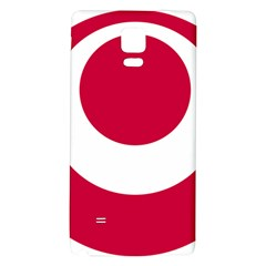Emblem Of Okinawa Prefecture Galaxy Note 4 Back Case
