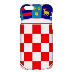 Coat Of Arms Of Croatia Apple Iphone 6 Plus/6s Plus Hardshell Case