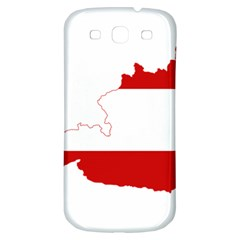Flag Map Of Austria Samsung Galaxy S3 S Iii Classic Hardshell Back Case