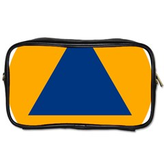 International Sign Of Civil Defense Roundel Toiletries Bags 2 Side by abbeyz71