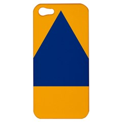 International Sign Of Civil Defense Roundel Apple Iphone 5 Hardshell Case
