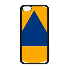 International Sign Of Civil Defense Roundel Apple Iphone 5c Seamless Case (black)
