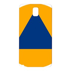 International Sign Of Civil Defense Roundel Samsung Galaxy Note 3 N9005 Hardshell Back Case