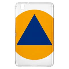 International Sign Of Civil Defense Roundel Samsung Galaxy Tab Pro 8 4 Hardshell Case