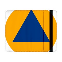 International Sign Of Civil Defense Roundel Samsung Galaxy Tab Pro 8 4  Flip Case