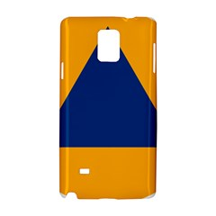 International Sign Of Civil Defense Roundel Samsung Galaxy Note 4 Hardshell Case
