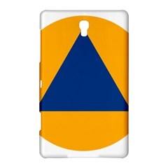 International Sign Of Civil Defense Roundel Samsung Galaxy Tab S (8 4 ) Hardshell Case