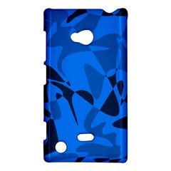 Blue Pattern Nokia Lumia 720 by Valentinaart