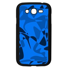 Blue Pattern Samsung Galaxy Grand Duos I9082 Case (black) by Valentinaart
