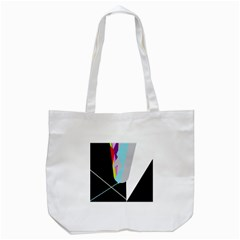 Colorful Abstraction Tote Bag (white)