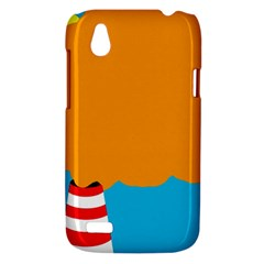 Chimney HTC Desire V (T328W) Hardshell Case