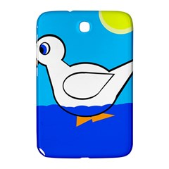 White Duck Samsung Galaxy Note 8 0 N5100 Hardshell Case  by Valentinaart