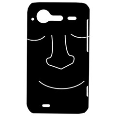 Sleeping face HTC Incredible S Hardshell Case  by Valentinaart