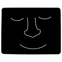Sleeping Face Jigsaw Puzzle Photo Stand (rectangular) by Valentinaart