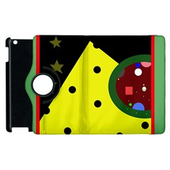 Abstract Design Apple Ipad 3/4 Flip 360 Case by Valentinaart