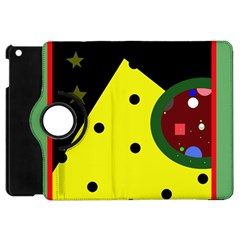 Abstract Design Apple Ipad Mini Flip 360 Case by Valentinaart