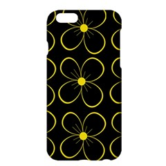Yellow Flowers Apple Iphone 6 Plus/6s Plus Hardshell Case by Valentinaart