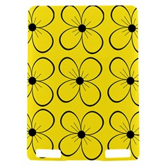 Yellow floral pattern Kindle Touch 3G
