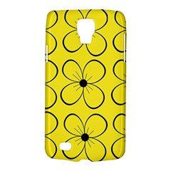 Yellow Floral Pattern Galaxy S4 Active by Valentinaart