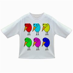 Colorful Birds Infant/toddler T Shirts by Valentinaart