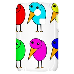 Colorful birds Samsung S3350 Hardshell Case by Valentinaart