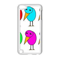 Colorful Birds Apple Ipod Touch 5 Case (white) by Valentinaart