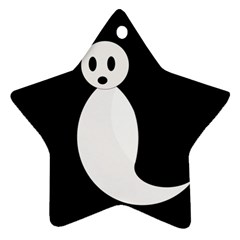 Ghost Ornament (star)  by Valentinaart