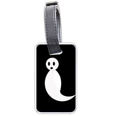 Ghost Luggage Tags (one Side)  by Valentinaart