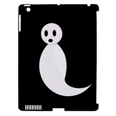 Ghost Apple Ipad 3/4 Hardshell Case (compatible With Smart Cover) by Valentinaart