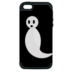 Ghost Apple Iphone 5 Hardshell Case (pc+silicone) by Valentinaart
