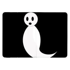 Ghost Samsung Galaxy Tab 8 9  P7300 Flip Case by Valentinaart