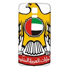 Emblem Of The United Arab Emirates Samsung Galaxy S5 Back Case (white)