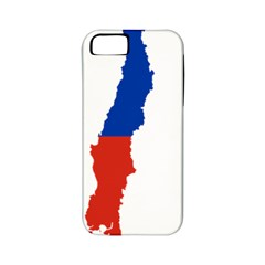 Flag Map Of Chile  Apple Iphone 5 Classic Hardshell Case (pc+silicone)