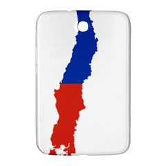Flag Map Of Chile  Samsung Galaxy Note 8 0 N5100 Hardshell Case