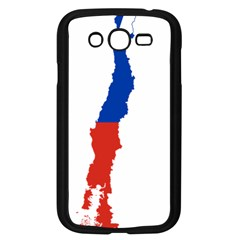 Flag Map Of Chile  Samsung Galaxy Grand Duos I9082 Case (black)